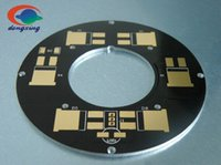 Wholesale Sided aluminum plate proofing PCB circuit board production and processing high power thermoelectric separation LED copper substrate