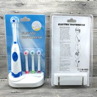 Wholesale Rotary electric toothbrush brush cover with a base colors optional