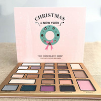 best wholesale drop ship - Christmas in New York THE CHOCOLATE SHOP Eyeshadow Collection Colors Christmas Limited Edition Eyeshadow palette Best Gift drop shipping