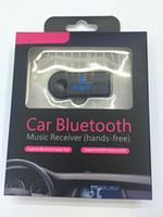 audio stereo systems - Mini Bluetooth Receiver Audio Music Streaming Sound System Bluetooth Car Kits with mm Stereo with Mic For Phone MP3 Retail Box