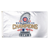 Wholesale Chicago Cubs Champions Flag Kris Bryant Javier Baez Anthony Rizzo Kyle Schwarber David Ross Joe Maddon