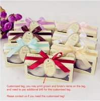 Wholesale SETS love bird salt pepper shaker Wedding favors With customized tag party gift supplies