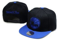 Wholesale Hot New Men s Women s Basketball Snapback Baseball Snapbacks ers Iverson s hats Flat Caps Adjustable Cap Sports Hat mix order