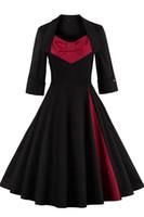 adult zip line - Vintage Black Red Burgundy Women s Ruffles Draped Denim Zip Trench Coat Outwear Long Jacket Overcoat Plus Size Work Winter Dresses FS0493
