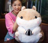 achat en gros de grand hamster-Big Cute Plush Fat Hamster Cricetulu géant grand peluche peluche en peluche
