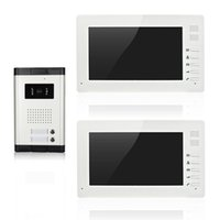 Wholesale XSL V70I V2 video door phone inch screens with buttons CMOS camera for aparments