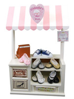 Wholesale Concession Shoppe Changeable Signs for quot American Girl Bake Shoppe Shoe Shoppe Tea Room Signs Doll Table canopy register money