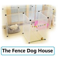Wholesale Manli brand factory direct super popular pet dog cat free combination of good fence fence dog house cage transparent solid toughness fence t