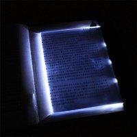 Чтение панели Цены-Горячий Свет книги Клин Чтение Night Light группы Led лампа свет панели Клин Мягкая обложка Творческий светодиодные панели Клин Книга Лампа для чтения
