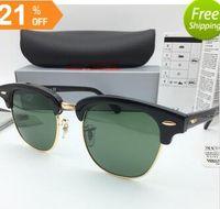 Wholesale Brand band Designer Sunglasses High Quality rays Metal Hinge Sunglasses Men Glasses Women Sun glasses UV400 mm Unisex With Original Box