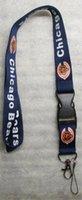 Wholesale Hot Classic Team Logo Bears Breakaway Disconnecting Football LANYARD ID Key Holder NEW Navy Color