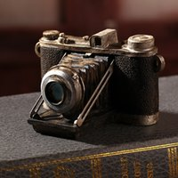 antique cameras - Shabby Chic Camera Vintage Home Decor Resin Crafts Home Decoration Accessories For Living Room Antique Art Collections