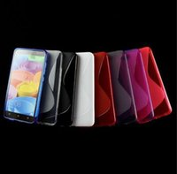 Wholesale For Samsung Galaxy S8 Plus EDGE A3 A5 A7 J5 J7 Prime S line Grip Wave Soft TPU Gel Rubber Clear skin Phone back cover case
