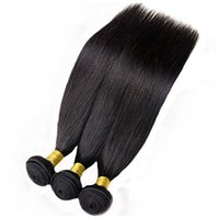 Wholesale Vinsteen Unprocessed Peruvian Brazilian Indian Malaysian Hair Bundles Real Remy Straight Human Hair Extensions Thick Ends Shiny Hair Weaves