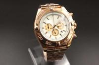 avenger watches - Hot Sale Elegant Special Fine Brand Quartz Watches Men Dial Analog Gold Case Skeleton Rose Gold Band Avenger Chronometer Digital Watch
