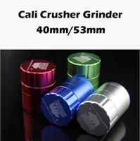 aircraft metals - 1pc Cali Crusher Grinders Bear Herb Grinders Aircraft Aluminum Grinder Smoking Metal Grinders Layer mm Diameter