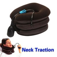 Wholesale High Quality Air Cervical Neck Traction Soft Brace Device Head Back Shoulder Neck Pain Health Care