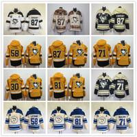 2017 Pittsburgh Penguins hoodies Evgeni Malkin Phil Kessel Sidney Crosby Kris Letang Matt Murray Stade Série Hockey Hoody Sweatshirts