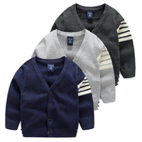 Wholesale 2016 Autumn and Winter New Children Jacket For Boys preppy style zebra Baby Boys Outerwear Coats Years Kids Clothes