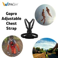Wholesale Wewow C2 Hot sale Go Pro Heros Adjustment Elastic Chest Body Strap For gopros SJ4000 SJ5000 SJCAM accessories