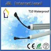 Wholesale Hot sale Integrated T10 V Waterproof Led Tube Light W Leds W Leds W Leds W Leds outdoor light ft ft Lamp