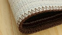 Wholesale Mats doormat absorbent pads bath room slip resistant gadders Striped Bath Mats L Eco friendly PVC