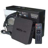 Wholesale MXQ K Android TV Box Quad Core Rk3229 Media Player IPTV Smart TV Boxes GB GB With KODI android