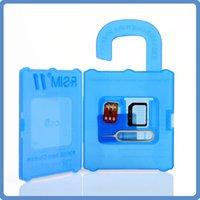 Wholesale Original R SIM RSIM11 r sim11 rsim unlock card for iPhone plus iOS ios7 x CDMA GSM WCDMA SB SPRINT G G