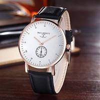 al por mayor ver logotipo de los hombres de la marca-Moda PAUL HEWITT Marca mujeres hombres Unisex Correa de cuero reloj de pulsera de cuarzo completo logo