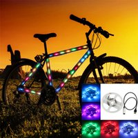 Wholesale Christmas LED Lights M Waterproof USB LED Strape TV background USB LED Light Strape Bicycle Motorcycle LED strape