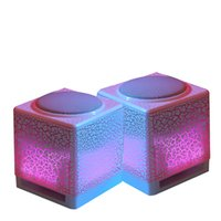Active 2.0 Mini Mini Portable LED wire computer Speakers Wire Small Music Audio USB Light Stereo bass Sound Speaker For laptop PC MP3 MP4