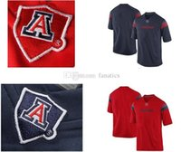 arizona youth football - Men s Women Youth Kids Arizona Wildcats Personalized Customized Football NCAA jerseys Blue Red Jerseys Top Quality Drop Shipping P
