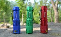 ba mini lights - LED Torch MINI Q5 LED Flashlight W LM Adjustable Focus Zoomable Flash Light Lamp Colors AA Ba