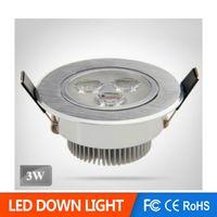 acryl brush - W W W W LED downlight AC85 V High brightness Full Power Brushed silver CE ROHS
