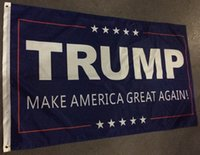 Wholesale 90 cm Donald Trump x5 Foot Flag Make America Great Again Donald for President USA DHL