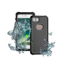 IPhone 7 WaterProof Case Multi-fonction Ultra-mince Underwater Back Cover Full-body Rugged Protective Shockproof imperméable à la poussière étanche