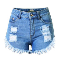 best ladies jeans - Best Selling Summer Brand New Sexy Lady Women s Jeans Pants High Waist Holes Fashion Slim Denim Shorts