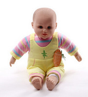 baby cost - PC cm Latex baby doll simulation doll toy mobile mixed soft interior Mother costs Aids Formation Christmas gift M00420A