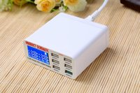 Wholesale Charger mobile phone tablet computer more than general plug usb port android intelligent a quick charger head