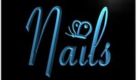 beauty nail bar - Nails Butterfly Beauty Salon Decor Bar Beer pub club d signs LED Neon Sign man cave