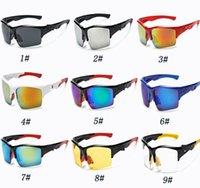 al por mayor gafas deportivas de visión nocturna-Las gafas de sol más nuevas del montar a caballo del deporte forman los vidrios al aire libre para el biking que conduce la pesca Golfing la visión nocturna Gafas Sun glasses