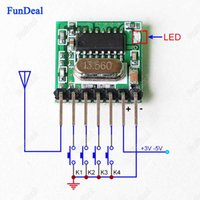 11dbm arm gate - 433mhz Mini Wireless RF Remote Control EV1527 Learning code Mhz Transmitter For Gate Garage Doorbell Alarm Arduino ARM DIY