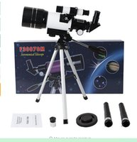 Wholesale professional Refractive Astronomical Telescope with Tripod HD Monocular Spotting Scope mm Telescopio Children Gift