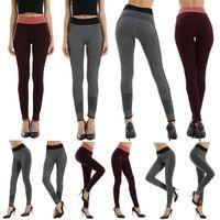active wear pants - JSEO Women Seamless Leggings Power Flex Yoga Pants Slimming Fitness Spandex Pants Jogger Workout Gym Active Wear