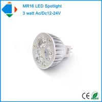 Wholesale 5X ac dc volt spotlights MR16 W epsitar high power watts aluminum volt led spotlights natural white bulb lamp