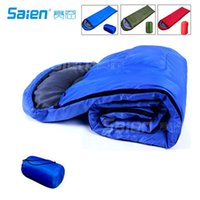 Wholesale Compact Lightweight Muir Spring Summer Fall Sleeping Bag Youth F C with Digital Accessory Pocket Compressing Carry Bag Included
