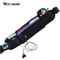 Wholesale Brand New Waist Bags Tour de France Unisex Sports Multi function Waterproof Reflective Fitness Bags Pouch Belt Running Bags