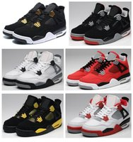 jordans - High Quality s Men Basketball Shoes s White Cement Royalty Black Red Bred Sneakers With Shoes Box