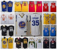 Wholesale TOP Basketball Golden State Seattle jerseys Warriors Supersonics Men Youth Kevin Durant chinese All Star texas Retro Jersey