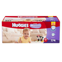 Wholesale 2 BOX Count Hies Little Movers Mickey Mouse Size Baby Diapers